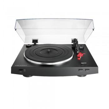 Toca-Discos Audio-Technica estéreo acionado por correia totalmente automático Preto - AT-LP3BK