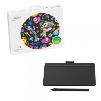 Mesa Digitalizadora Wacom Intuos Bluetooth Pequena - CTL4100WLK0