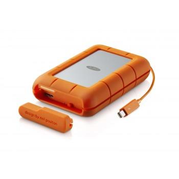 HD Externo Portátil LaCie Rugged 4TB USB 3.0 e Thunderbolt RAID - STFA4000400 (9000601)