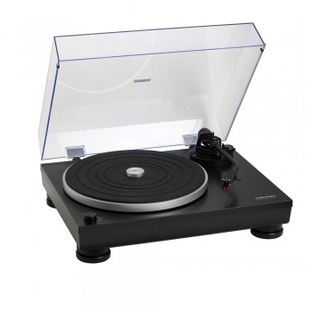 Toca-discos Audio-technica Manual AT-LP5 Direct Drive com cartucho AT95EX e conversor digital USB
