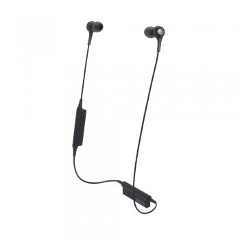 Fone de ouvido Audio-Technica Bluetooth intra-auriculares com microfone e controle - ATH-CK200BTBK