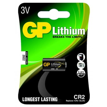 Bateria Lithium Photo 3V – CR2-C1 - GP Batteries