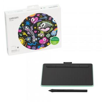 Mesa Digitalizadora Wacom Intuos Bluetooth Pequena - CTL4100WLE0