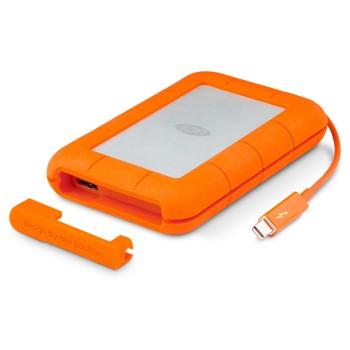 HD Externo Portátil LaCie Rugged 1TB Thunderbolt e USB 3.0 - STEV1000400 (9000488)